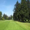 A view from a tee at Eugene Country Club.