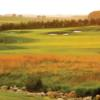 A view of a fairway at Somerby Golf Club.