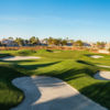 A sunny day view of a hole at Legacy Golf Club.