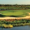 View of the 16th hole at River Hall Country Club