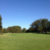 A sunny day view from a tee at The 1912 Club.