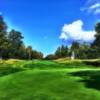 A view of a green at Manchester Country Club.