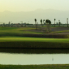 A view of a hole at The Tony Jacklin Marrakech Course from Argan Golf Resort.