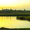 A view over the water from Argan Golf Resort.