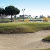 A view of a green at Santander Golf Club.