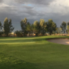A view of the 7th hole from The Links At Coyote Wash.