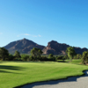 A view of a fairway at Paradise Valley Country Club.