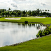 View of the finishing hole at Crane Lakes Golf & Country Club