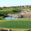 A view of a tee from Ranch at Tonto Verde Golf Club.