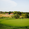 A view of a green at ArborLinks Golf Course