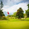 A view of a green at Makani Golf Club.