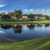 A view over the water from Half Moon Bay Golf Links.