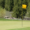 A view of a hole at Lahontan Golf Club.