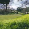 A view of a hole at Mayacama Golf Club.