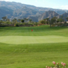 A view of a green from The Golf Club at La Quinta.