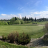 A view of the practice area at Edson Golf and Country Club.