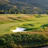 A view of a hole at Country Club of the Rockies.