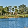 A view of a tee at Pelican Sound Golf & River Club.