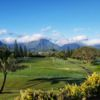 A view of a green at Mid-Pacific Country Club.