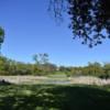 A view from a tee at Lake Barrington Shores Golf Club.