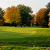 A fall day view of a green at Lincolnshire Fields Country Club.