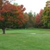 A view of the 6th green at Maplewood Golf Club.