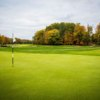 A sunny day view of a hole at Hulman Links Golf Course (Brendan Kearns).