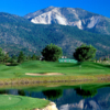 A view from a tee at Toiyabe Golf Club.