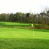 A view of a hole at Harvest Hill Golf Course.