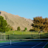 A view of a fairway from the tennis court at Coronado Country Club.
