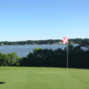 A sunny day view of a hole from Links at City Park Golf Course.