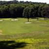A view of a fairway at Fort Belvoir Golf Club.