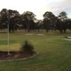 View of the 18th hole from Georges River Golf Course