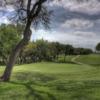 A view of a green at Blue Lake Golf Club.