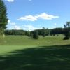 A view of a hole at Hidden Meadows Golf Course.