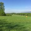 A view of a tee at Golf Resort Usti nad Labem.