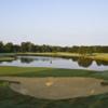 A view of a hole at Santa Maria Golf Club.