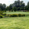 A view of the 18th green at Quail Creek Golf Course.