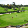 A view of the putting green at Golf El Kantaoui Course