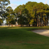 A view of a green at Mary Calder Golf Club.