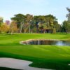 A view of a hole at Pine Lake Country Club.