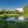A view of green #2 at Creekside Course from Boone Creek Golf Club (Miranda Photography).