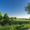 A view of the 9th fairway at Creekside Course from Boone Creek Golf Club (Miranda Photography).