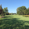 A sunny day view from Saint Clair Shores Country Club.