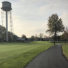 A view from a cart path at Saint Clair Shores Country Club.