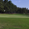 A view of a green from the Country Club of North Carolina.