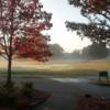 A fall day view from Furman University Golf Course.