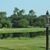A view from tee #5 sign at City Park Golf Course.