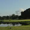 A view from a tee at City Park Golf Course.