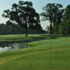 A view of a hole at J.S. Clark Park Golf Course.